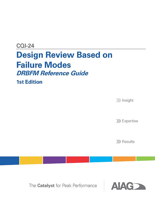 CQI-24 Design Review Based on Failure Modes 1st Edition
