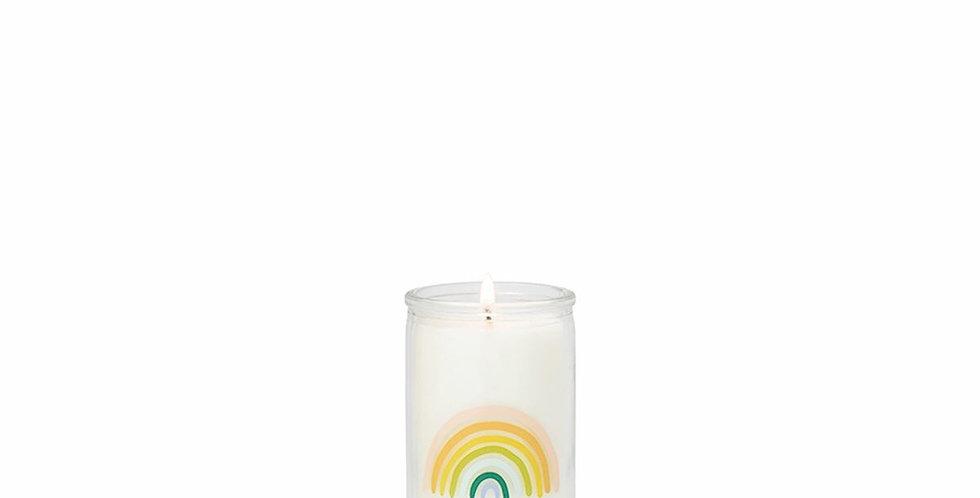 Paddywax Rainbow Spark - Eucalyptus Santal 5 oz candle