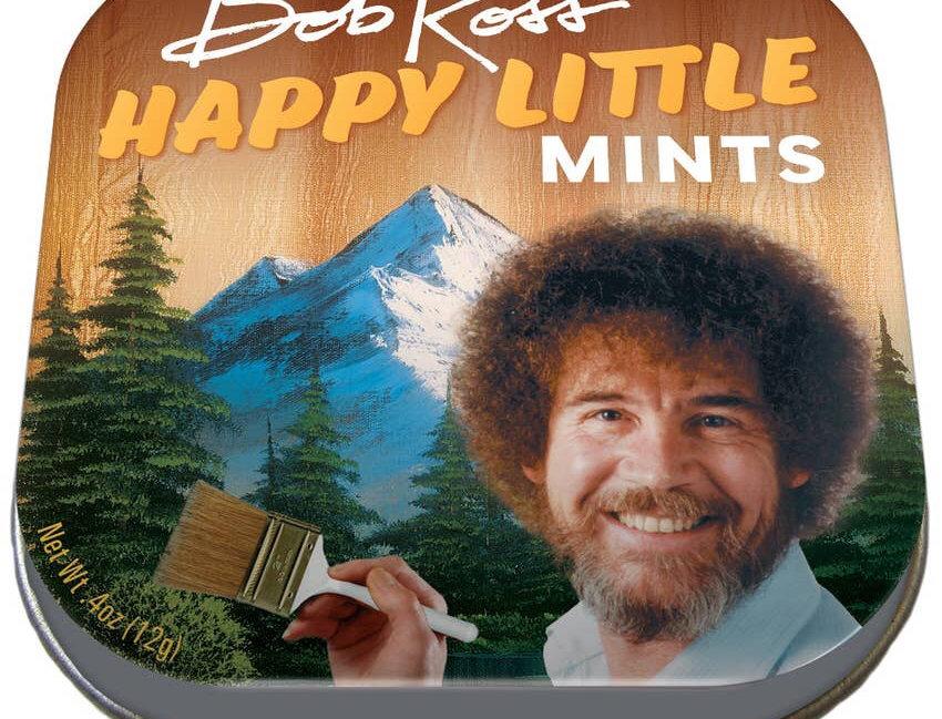 Unemployed Philosophers Guild Bob Ross Mints