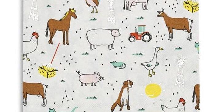 Daydream Society Farm napkins
