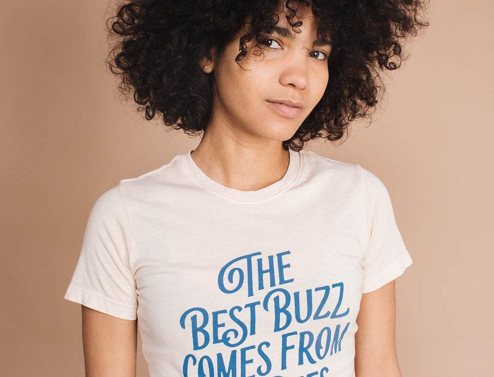 The Bee & The Fox Best Buzz womens tee