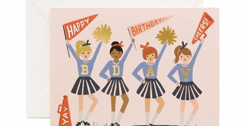 Rifle Paper Co Cheer Birthday Card