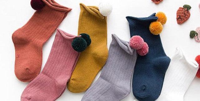 Mama Siesta Pom Socks