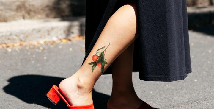 Tattly Clementines temporary tattoo