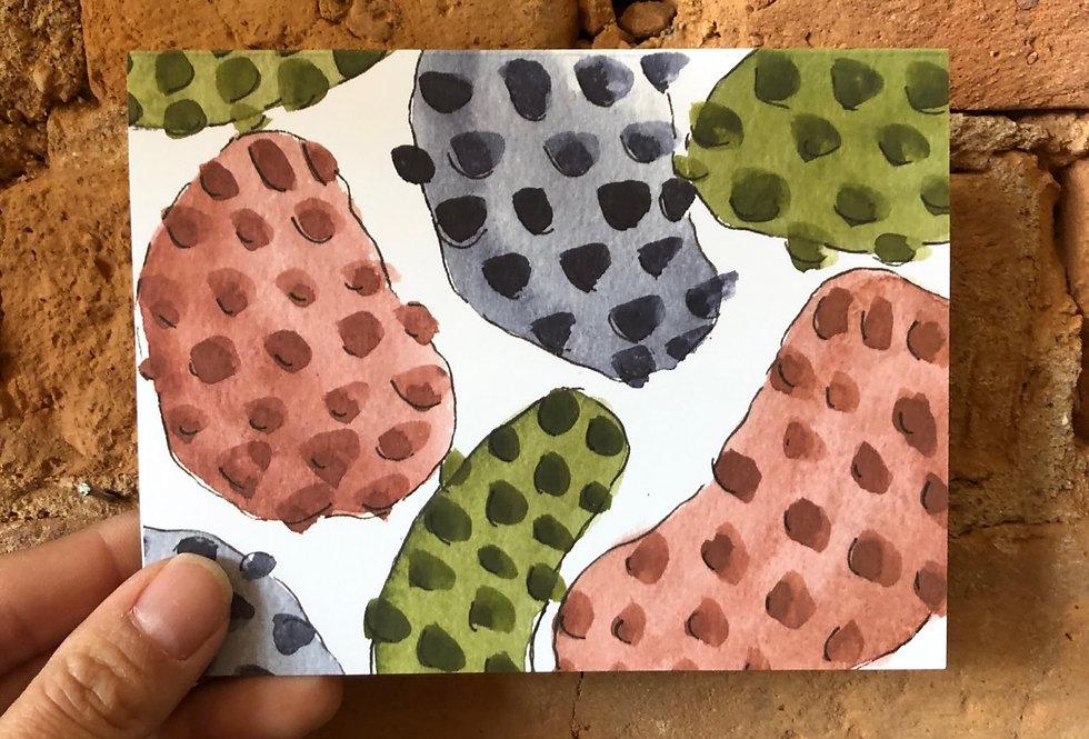 Second Kind Studio Blank Card - Splotches