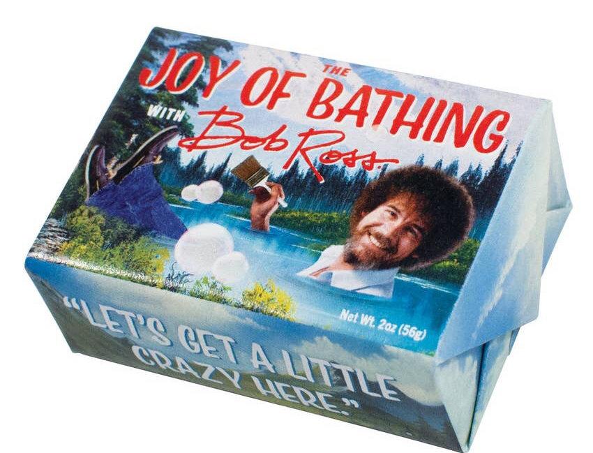 Unemployed Philosophers Guild Bob Ross Joy of Bathing Soap