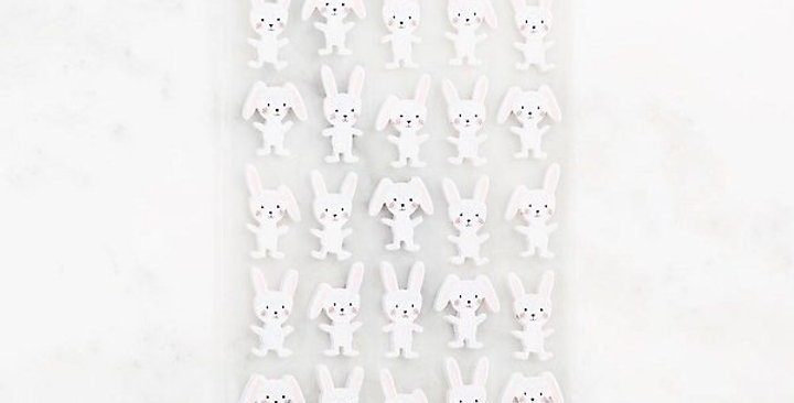 Paper Source bunny stickers
