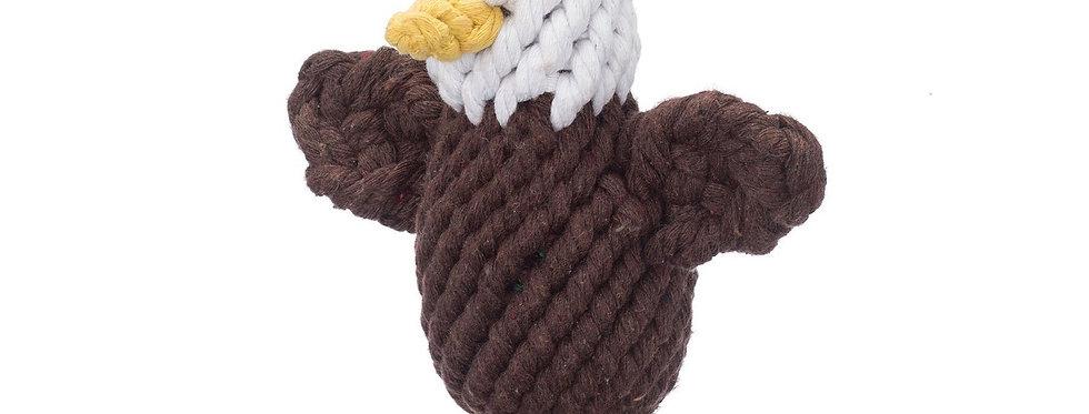 Jax & Bones Elvis the Eagle small rope toy