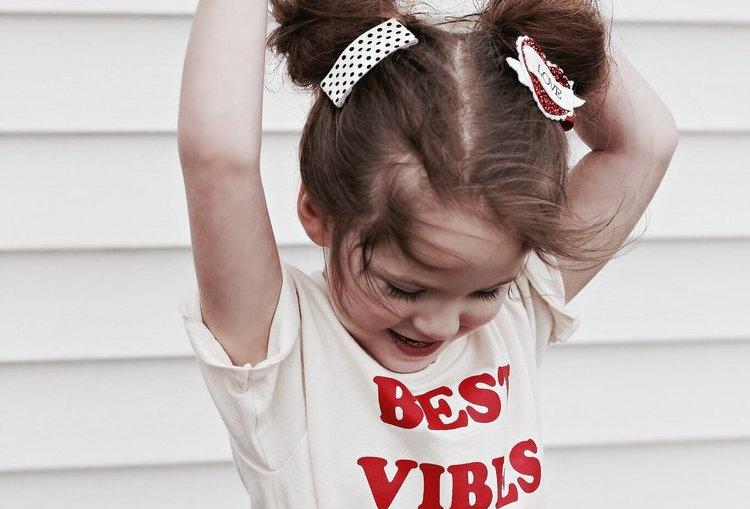Savage Seeds Best Vibes Ever kids tee