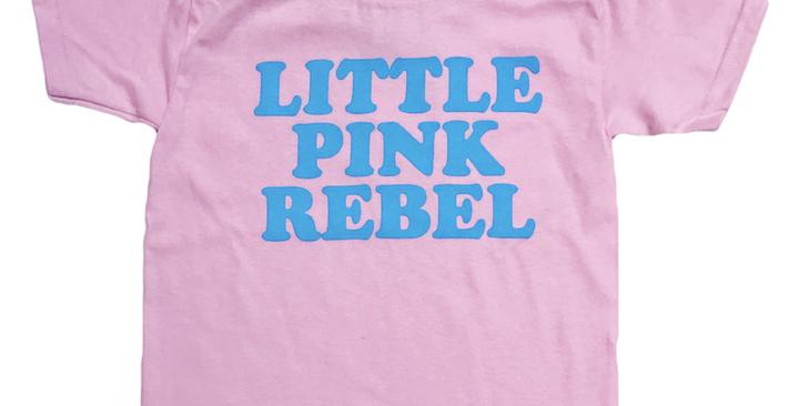 Gunner & Lux Little Pink Rebel kids tee
