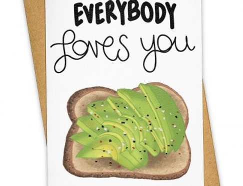 Tay Ham Everybody Loves You card