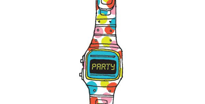 Tattly Temporary Party Time Tattoo