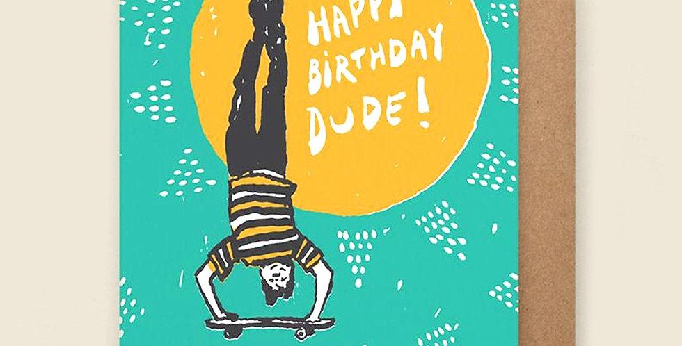 Hammerpress Happy Birthday Dude card