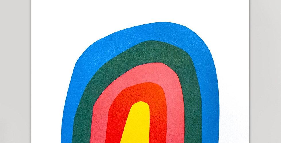 Hammerpress Rainbow print