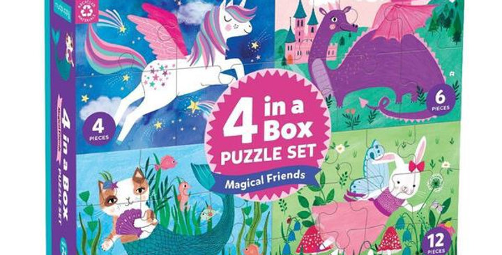 Chronicle 4 in a Box puzzles