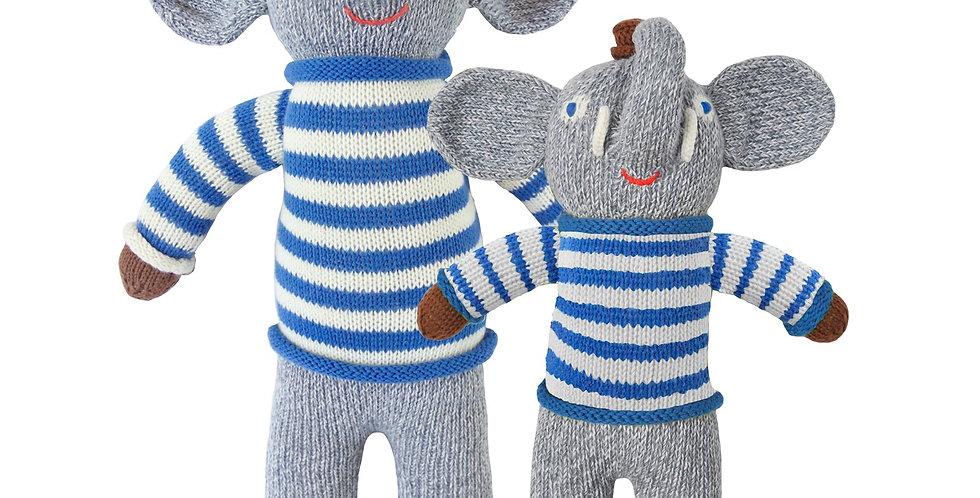 Blabla Kids Toutou the Elephant Large Doll (18 in)