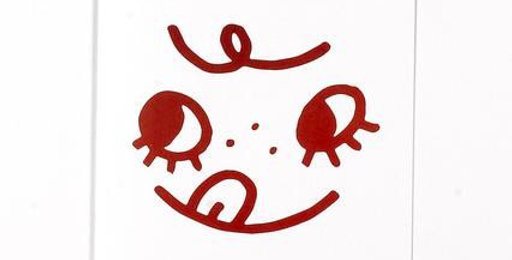 Tuesday Bassen Cutie Face card