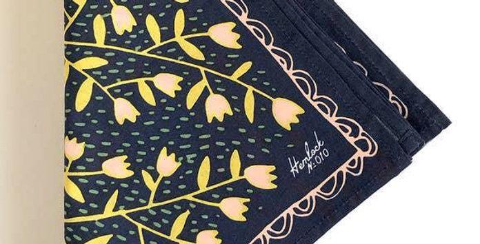 Hemlock Tulips bandana