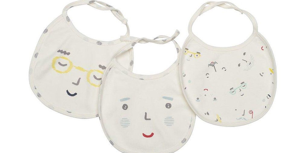 Pehr bib set of three