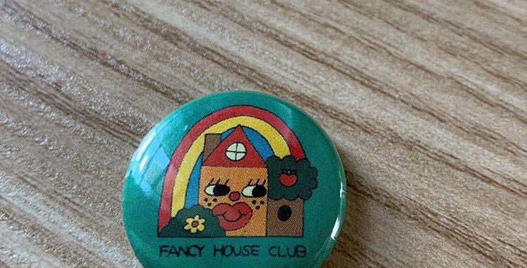 Flair Buds Fancy House Club button