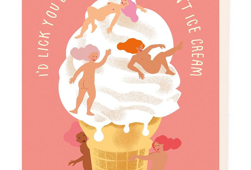 Noi Icecream card