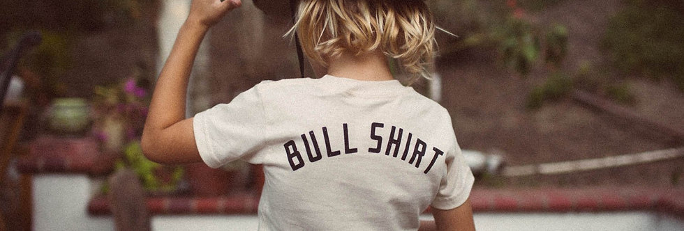 The Bee & The Fox Bull Shirt kids tee