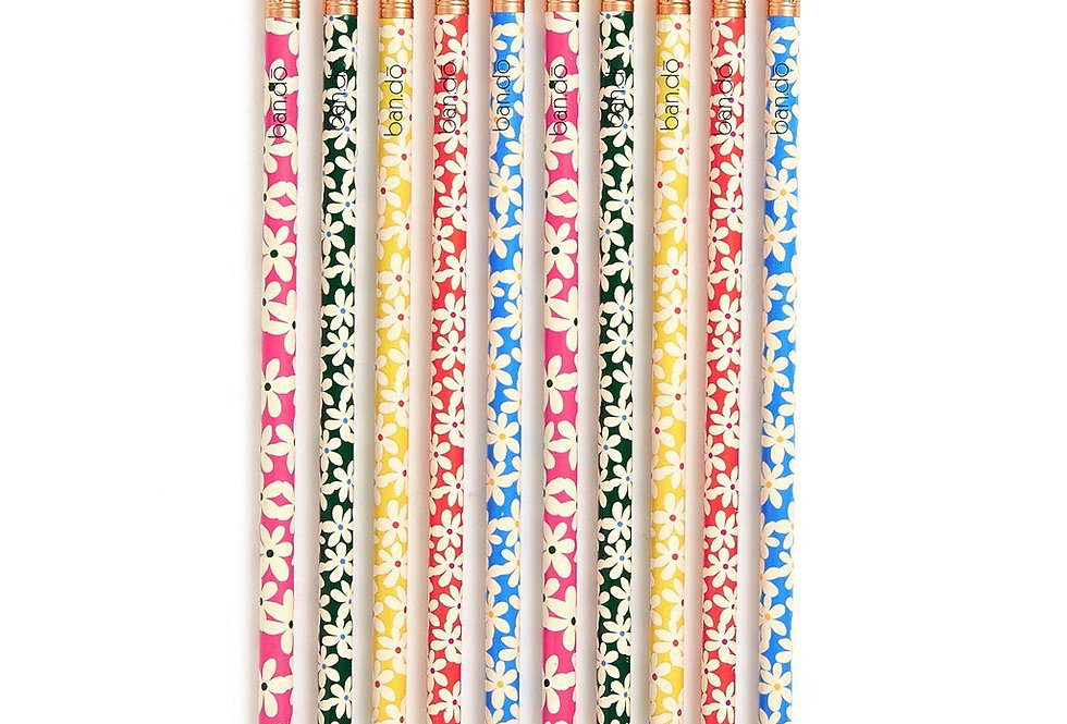 Bando Write On Pencil Set - Daisy