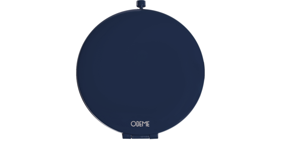 Odeme Compact Mirror (Navy)