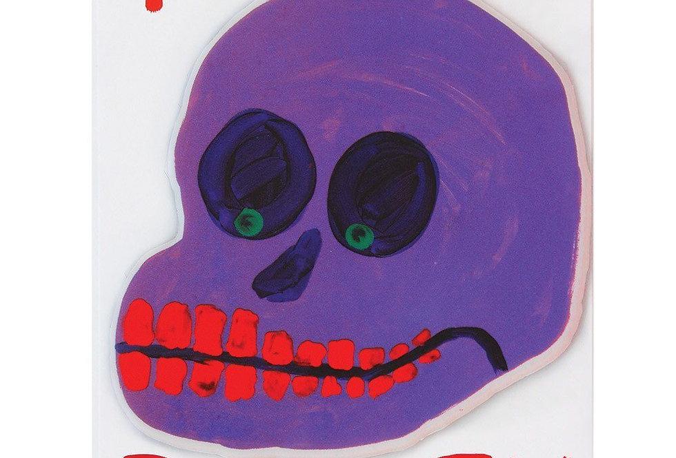 Third Drawer Down puffy sticker card