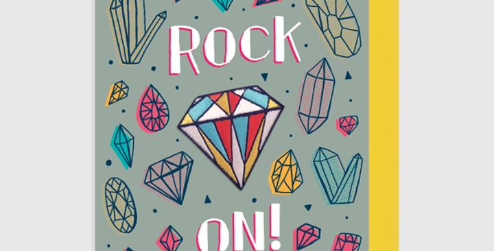 Allison Cole Rock On Patch + Card