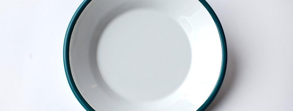 Bornn Enamelware Med. Plate (Blue)