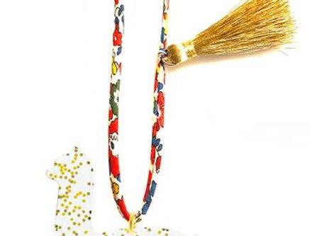 Gunner & Lux GOLDIE THE ALPACA necklace