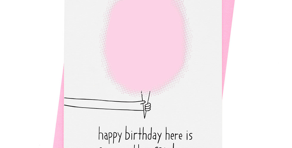 Ashkahn Cotton Candy Birthday