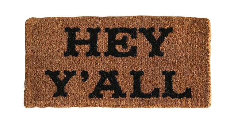 Creative Co-Op doormat