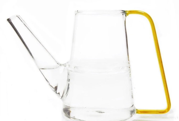 Chive Sprocket watering can - Yellow