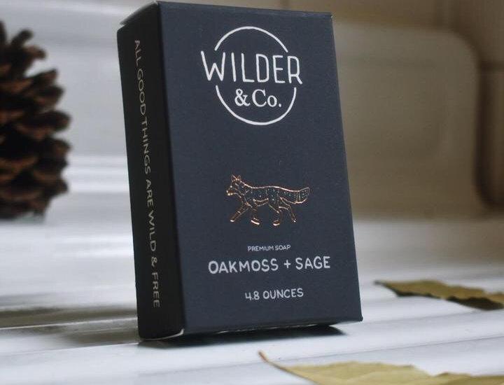 Wilder & Co. Oakmoss + Sage soap