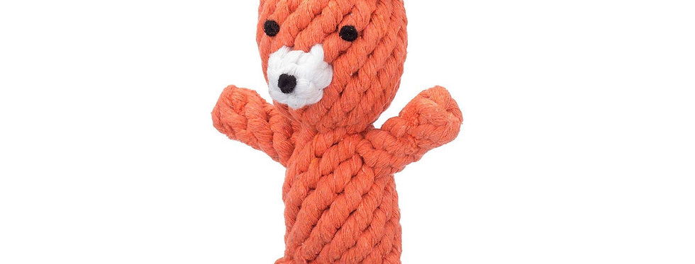 Jax & Bones Frederick the Fox small rope toy