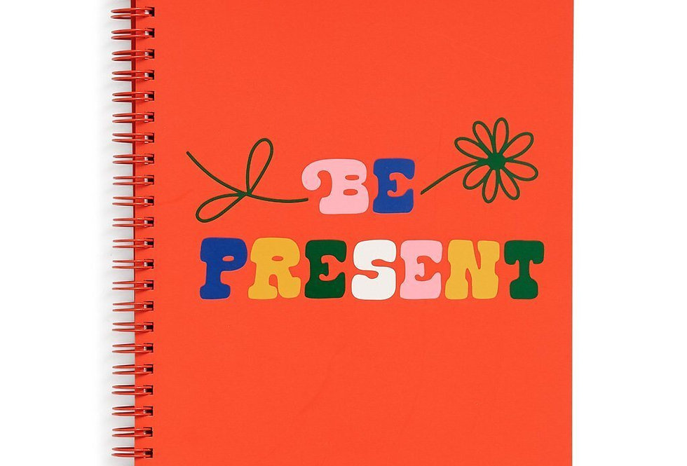 Bando Be Present Notebook