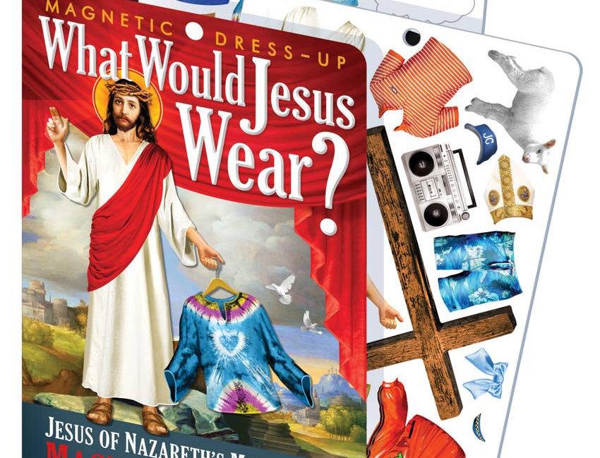 Unemployed Philosophers Guild Jesus Magnetic Dress Up
