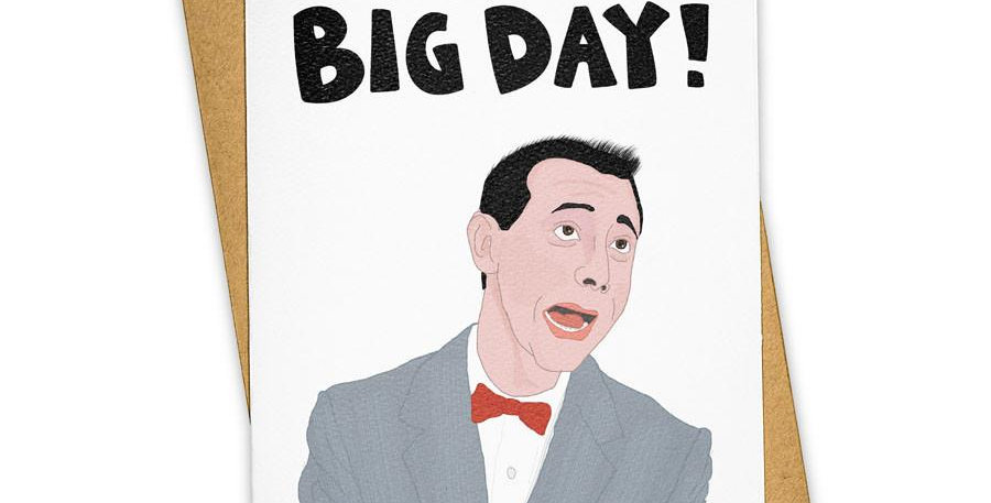 Tay Ham Big Day Card