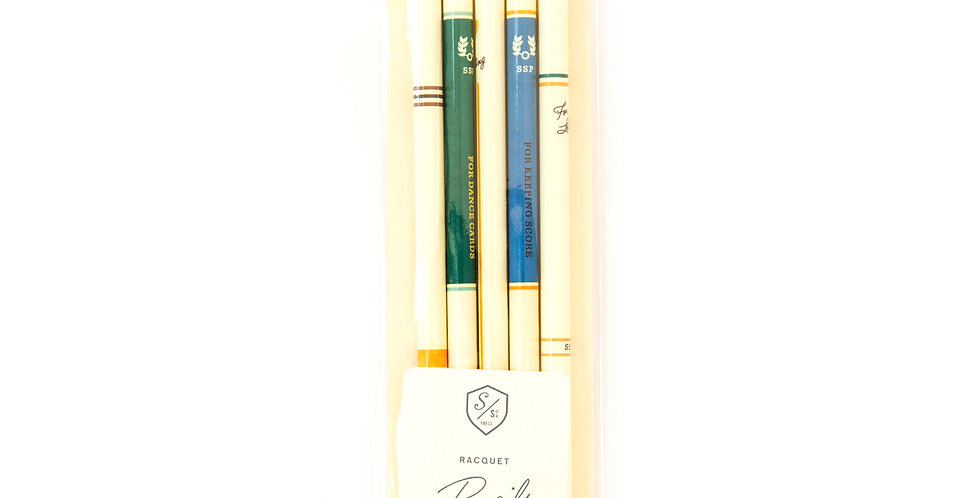 Sideshow Press Racquet Pencils