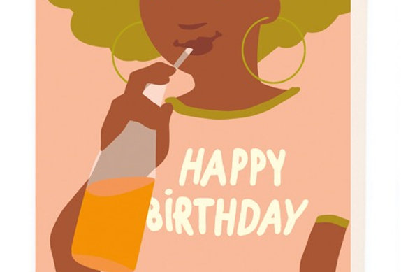 Noi Happy Birthday Juice card