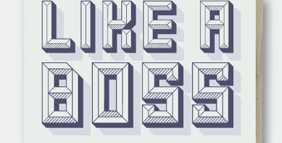 Pike Street Press Like A Boss card