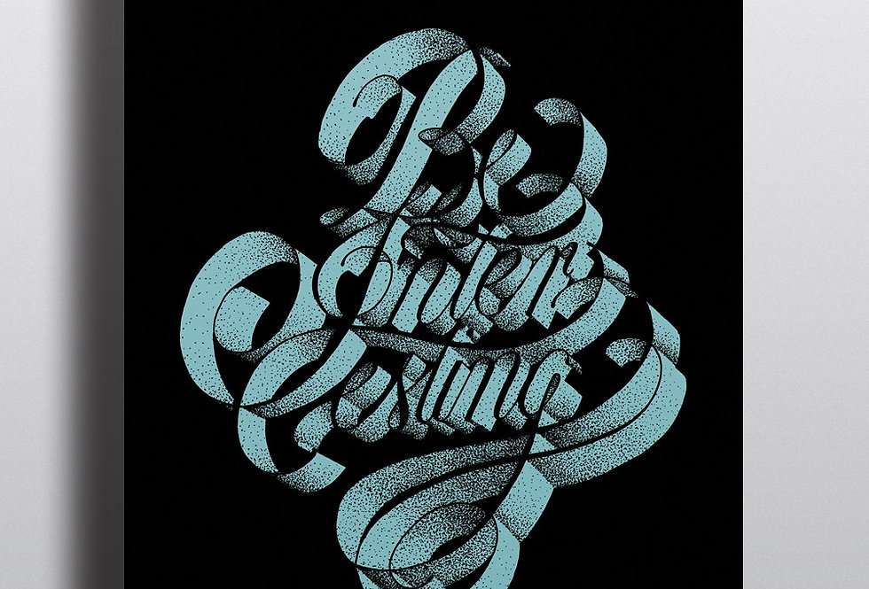 Pique Be Interesting print by Nick Ferran
