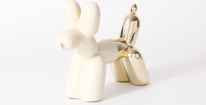 Imm Living Balloon Dog Color-block Bookend