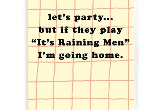 Noi Lets Party card