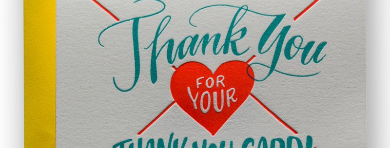 Ladyfingers Thank You For Thank You Card
