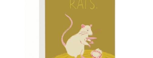 Red Cap Rats card