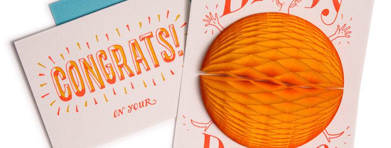 Ladyfingers Press Baby Bump Surprise card