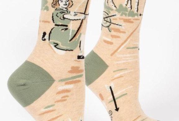 Blue Q Badass womens sock